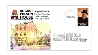 united-states-2021-august-wilson-stamp-first-day-cover