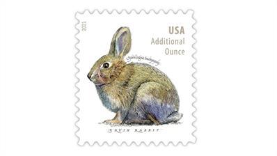 united-states-2021-brush-rabbit-additional-ounce-stamp