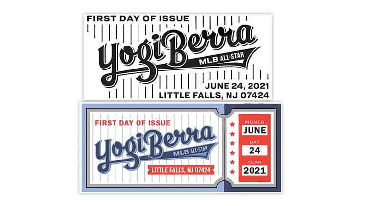 united-states-2021-yogi-berra-pictorial-first-day-postmarks