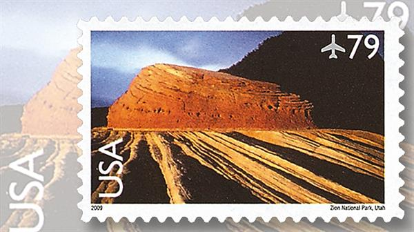 united-states-79-cent-zion-national-park-utah-airmail-stamp