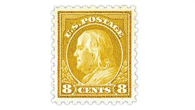 united-states-8¢-benjamin-franklin-stamp-scott-470