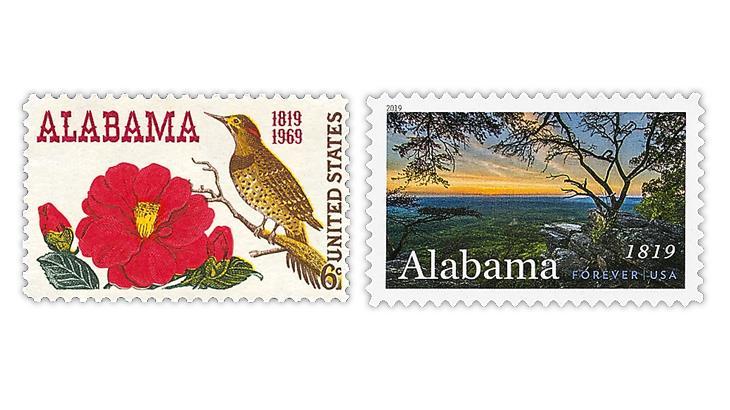 united-states-alabama-statehood-stamps