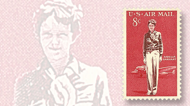 U.S. Amelia Earhart stamp