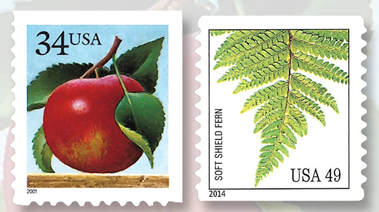 united-states-apple-fern-definitive-stamps