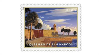 united-states-castillo-de-san-marcos-stamp