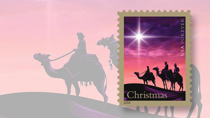 united-states-christmas-magi-stamp-2014