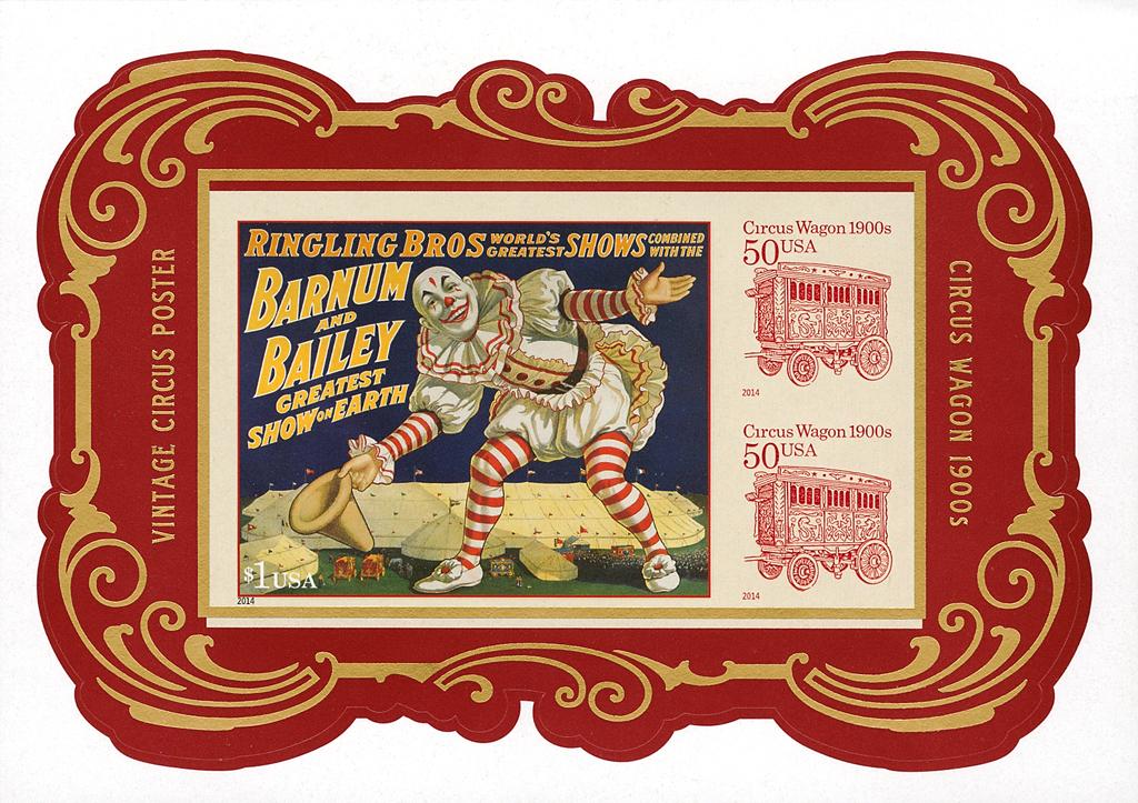 united-states-circus-souvenir-sheet-gold-color-shift