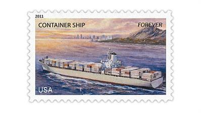 united-states-container-ship-stamp-2011