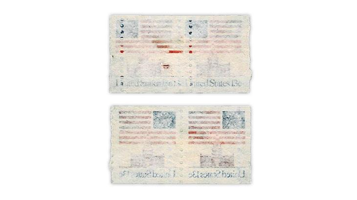 united-states-damaged-flag-over-independence-hall-coil-stamp-pair