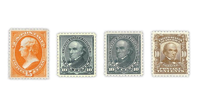 united-states-daniel-webster-stamps