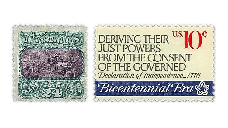 united-states-declaration-of-independence-stamps