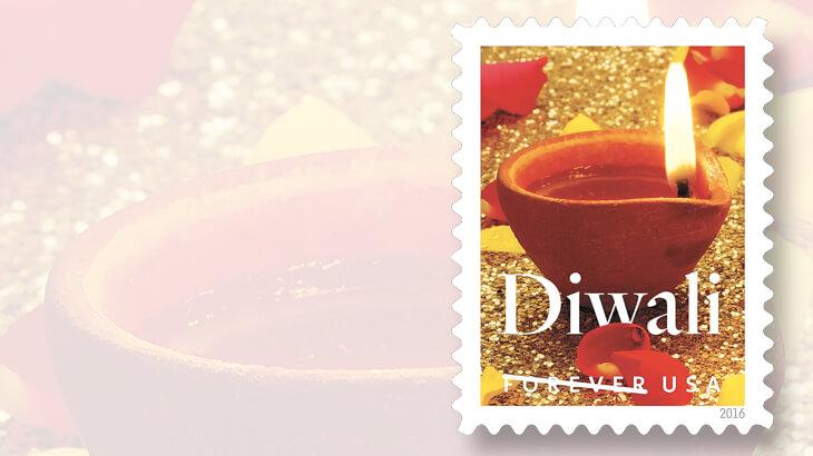 U.S. Diwali forever stamp