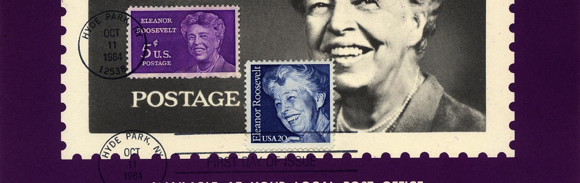 united-states-eleanor-roosevelt-stamp-announcement-poster-1963