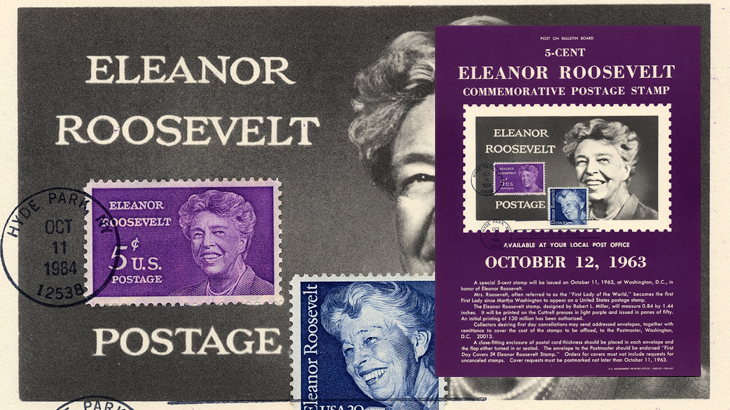 united-states-eleanor-roosevelt-stamp-announcement-poster