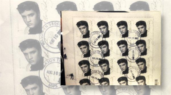 united-states-elvis-presley-pane-used-early