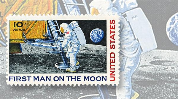 united-states-first-man-on-moon-stamp