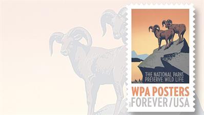 united-states-forever-stamp-promoting-national-parks
