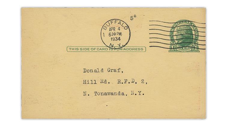 united-states-green-jefferson-postal-card-buffalo-new-york