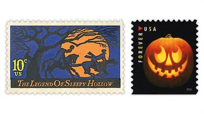 united-states-halloween-related-stamps