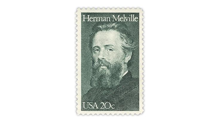 united-states-herman-melville-stamp