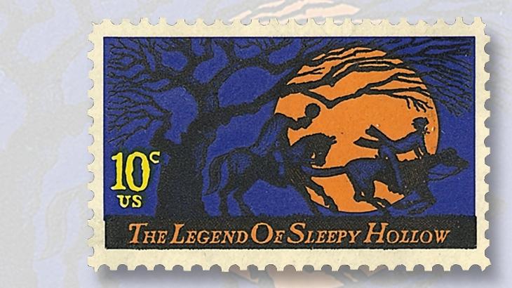 united-states-legend-of-sleepy-hollow-stamp