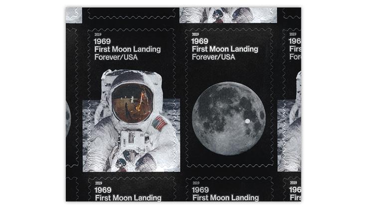 united-states-moon-landing-stamps-dark-illustrations