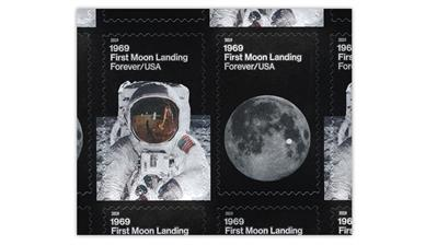 united-states-moon-landing-stamps-dark-illustrations
