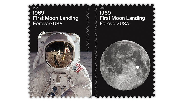 united-states-moon-landing-stamps