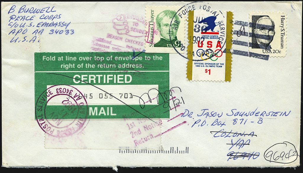 united-states-olympics-cover-us-embassy-chile-micronesia-1992
