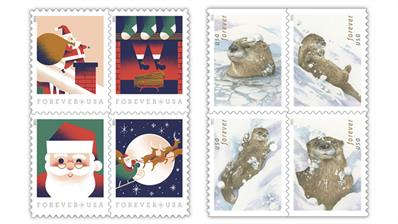 united-states-otters-st-nick-stamps