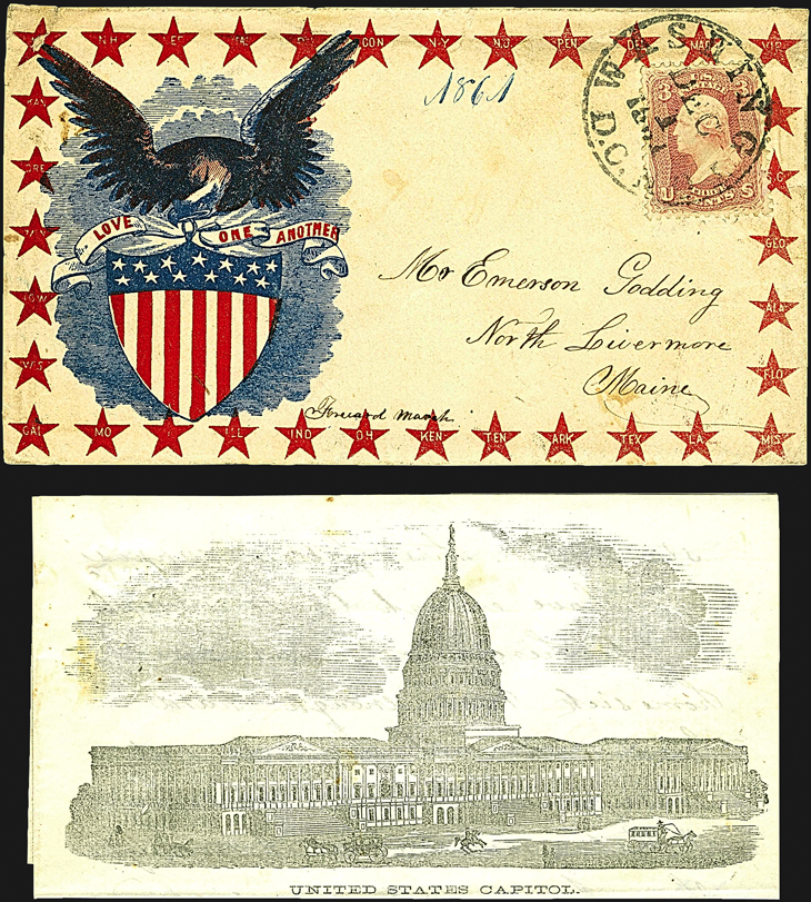 united-states-patriotic-cover-civil-war-gilbart-collection-siegel-auction