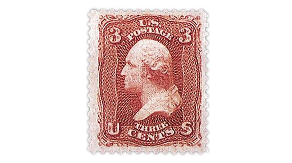 United States red George Washington stamp Scott 94