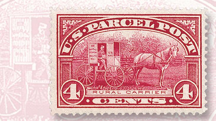 united-states-rural-carrier-parcel-post-stamp