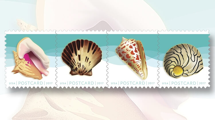 when and where u s seashells stamps will be issued linns com