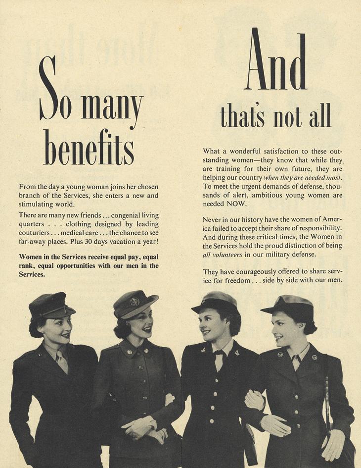 united-states-service-women-brochure