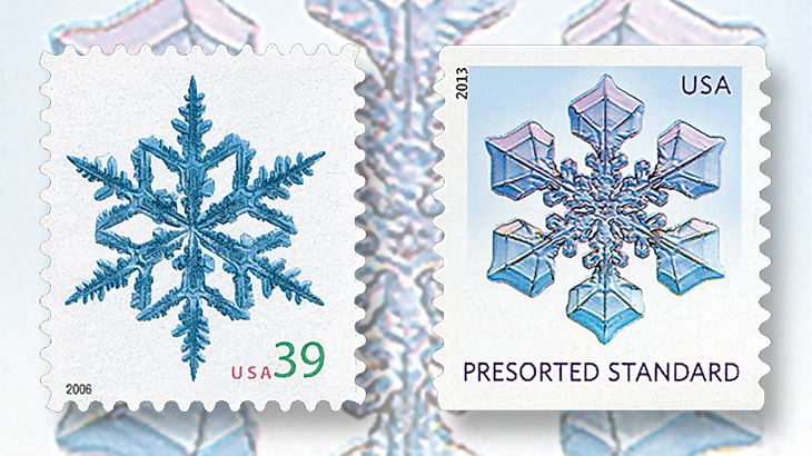 united-states-snowflakes-stamps-2006-2013