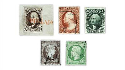 united-states-spain-france-imperforate-stamps