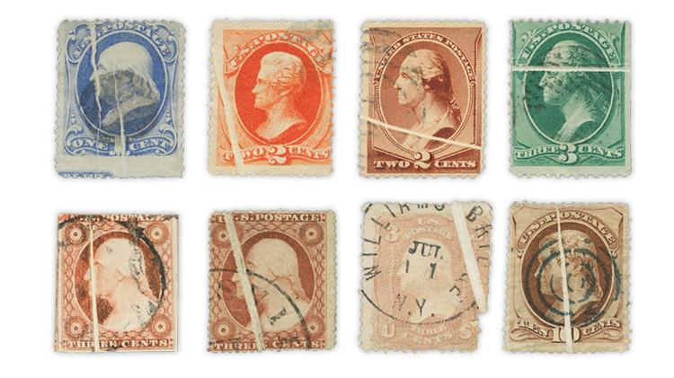 united-states-stamps-preprinting-paper-creases