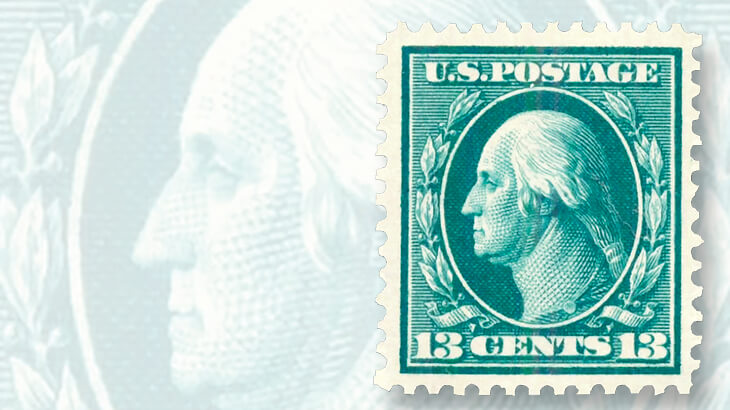 When U S Stamps Featured One Of Two Founding Fathers