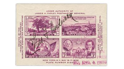 united-states-tipex-souvenir-sheet-charles-anderson-signature
