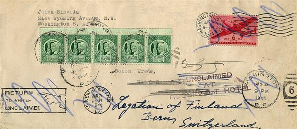 united-states-unclaimed-letter-finland-switzerland-1944