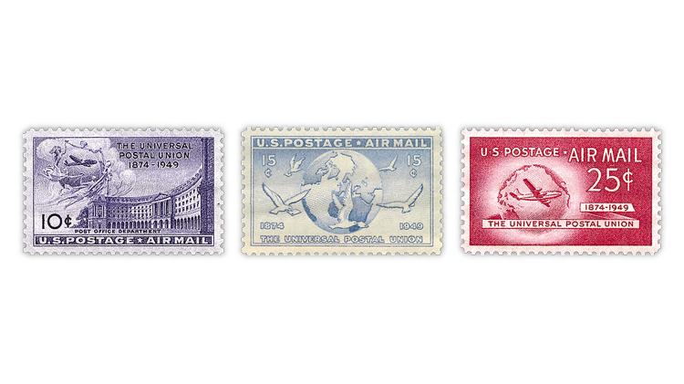 united-states-upu-75th-anniversary-stamps