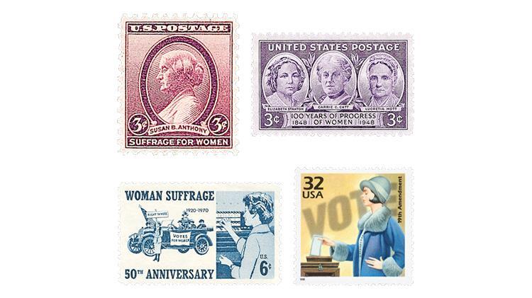 united-states-women-vote-suffrage-stamps