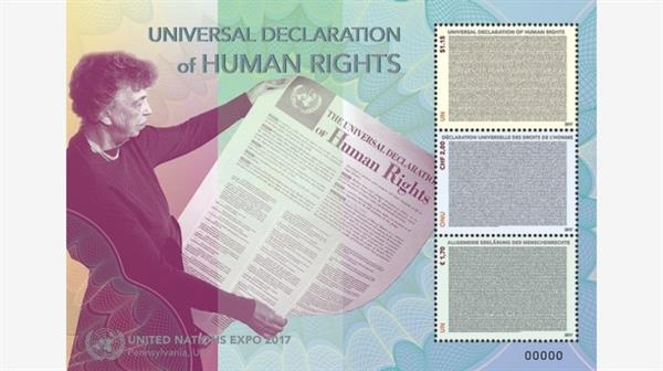 unps-souvenir-sheet-universal-declaration-human-rights-weeks-most