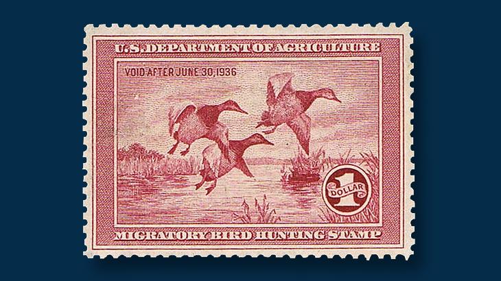unused-1935-federal-duck-stamp