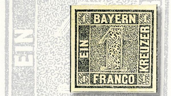 unveiling-classic-stamps-1849-bavaria-schwarze-einser