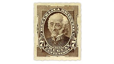 uruguay-1884-jose-gervasio-artigas-arnal-stamp