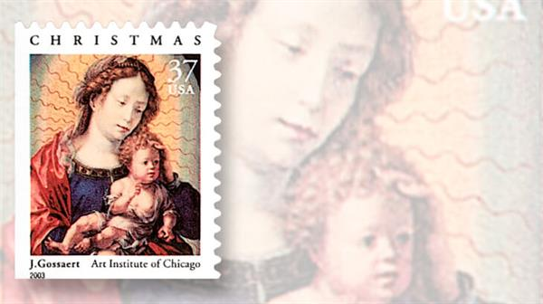 us-2003-madonna-and-child-stamp1