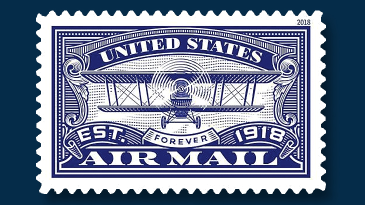 USPS plans two forever stamps to celebrate U S  airmail