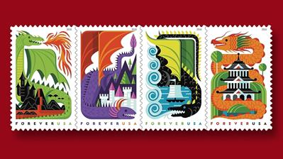 us-dragons-stamps-first-day